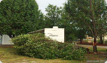 Barnyard RV Park storm 2 06302015