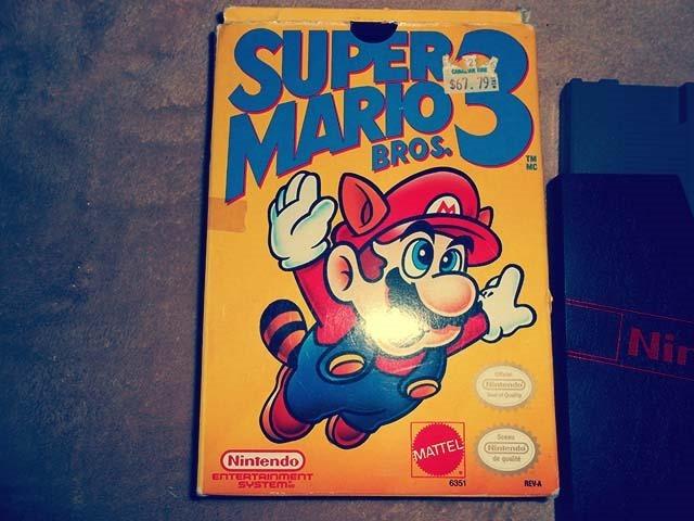 Super Mario Bros. 3 Front Side