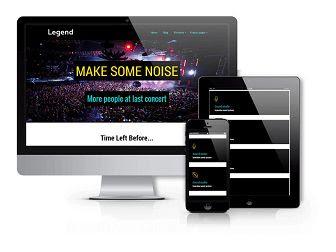 Legend - Event  WordPress theme