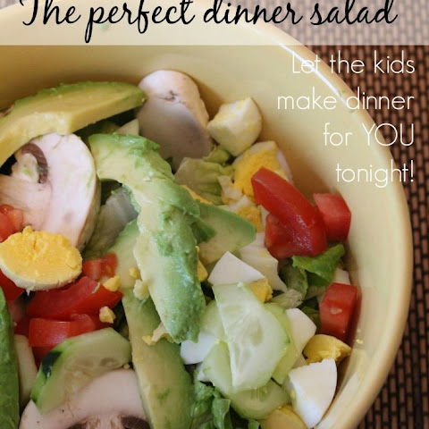 The Perfect Dinner Salad