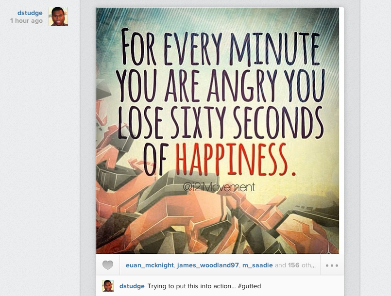 Screen+Shot+2013 09 22+at+14.52.15 Daniel Sturridge posts motivational slogan on Instagram after defeat to Southampton