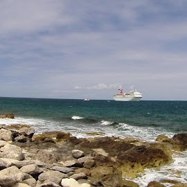On The Island at Little Stirrup Cay by John Mood - Landscapes Beaches ( beaches, cruise ship, tropical, vacations, nassau )