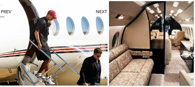 Tiger Woods Gulfstream Aircraft pictures