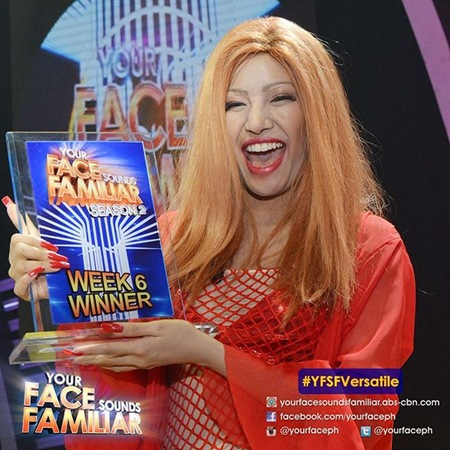 YFSF - Myrtle Sarrosa as Mystica wins
