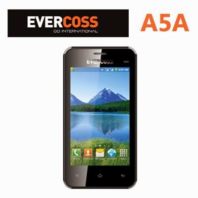 Evercoss A5A - Spesifikasi Lengkap dan Harga - Ponsel Murah