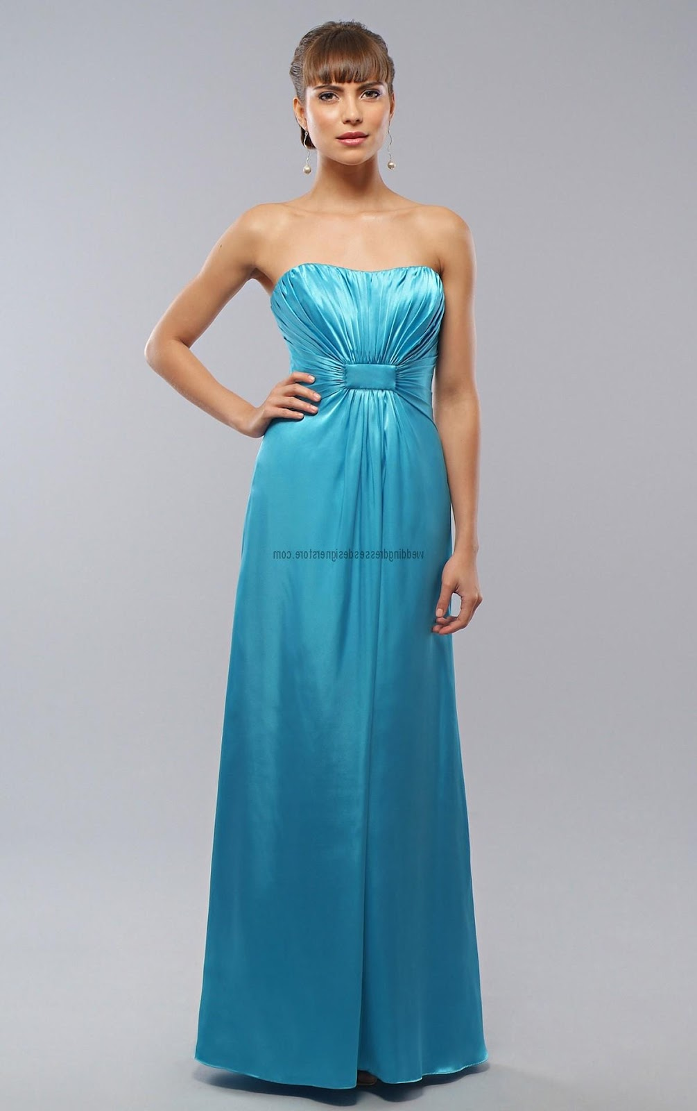 Ice Blue Bridesmaids Dress. Description; Contact Us