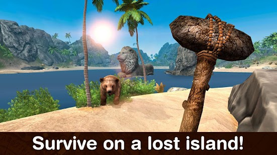 Game Lost Island Survival Simulator apk for kindle fire