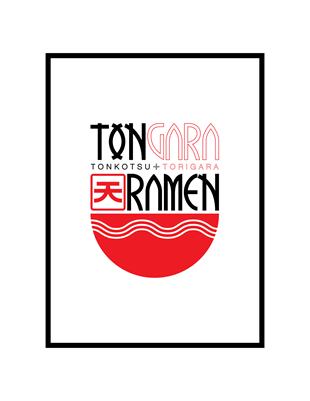 Tongara Ramen - Logo studies_5
