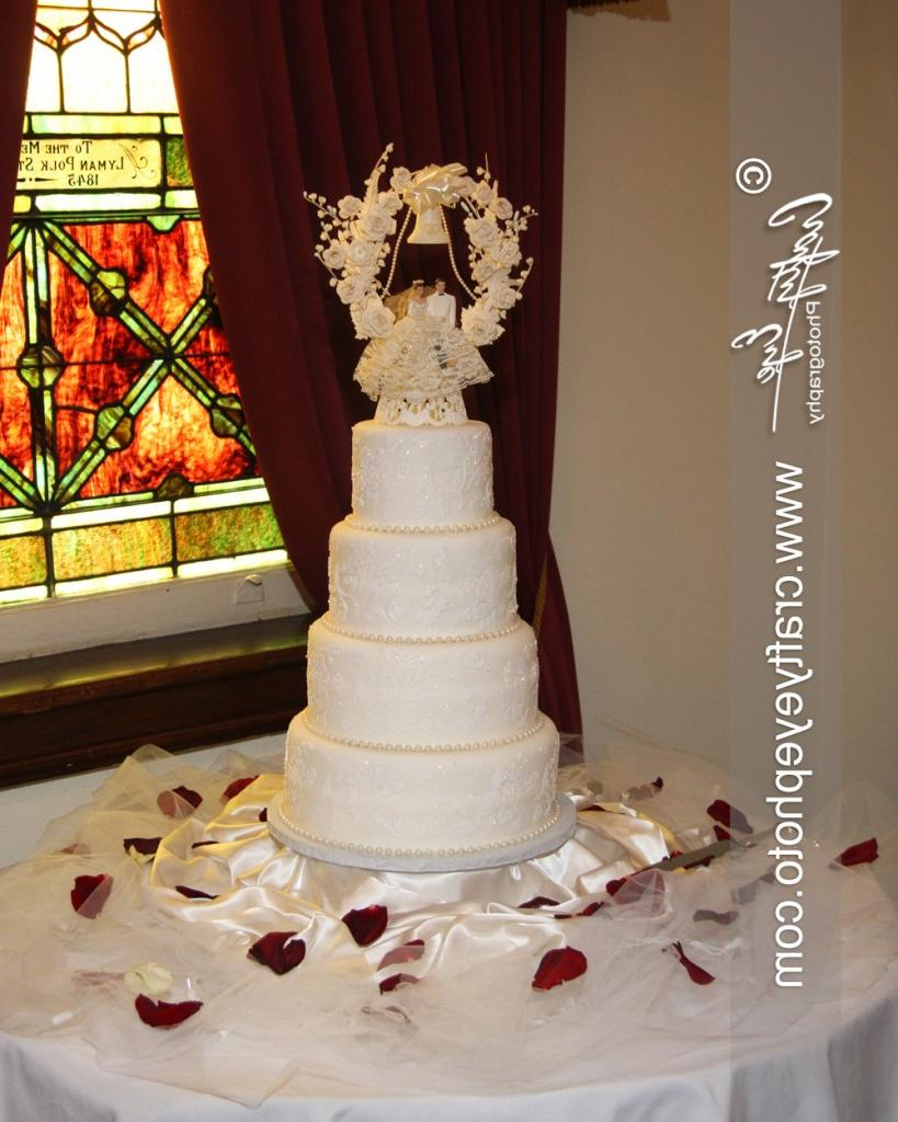 Wedding cake by Artistry on