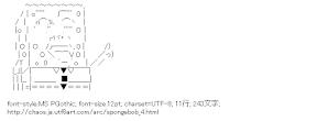 [AA]スポンジボブ・スクエアパンツ (スポンジ・ボブ)