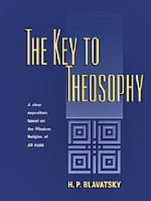 Cover of Helena Petrovna Blavatsky's Book The Key to Theosophy