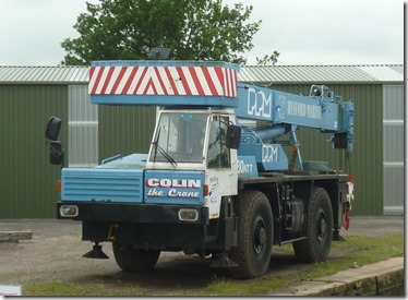 4 colin the crane at hesford marine