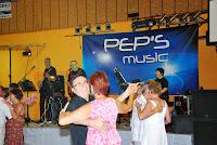 Les musiciens du groupe Pep's music