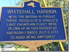 Whitehall Harbor sign