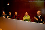 S-21: Mesa redonda: Eulogio Dávalos, Rosa Gil, Juan Grecos, José Miguel Moreno y Jaume Torrent discípulo de Tarragó