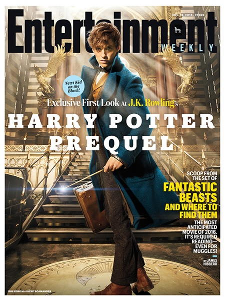 Eddie Redmayne - Entertainment Weekly Nov. 13, 2015