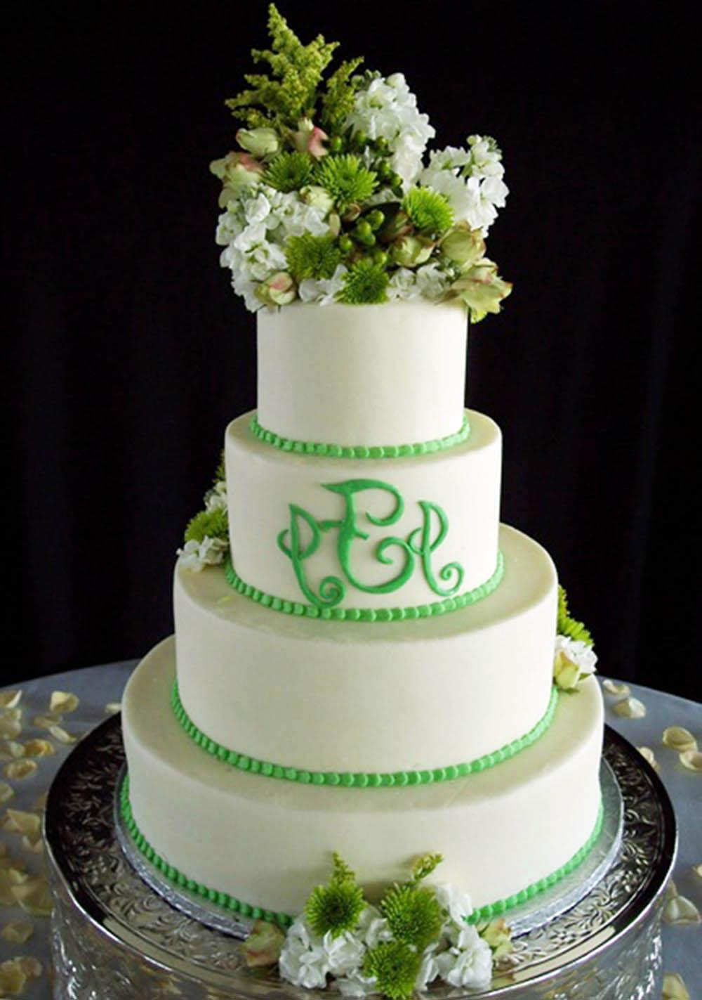 Candy Green Wedding Cakes