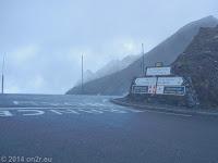 Col du Galibier (2645 m), Scheitelhöhe.
