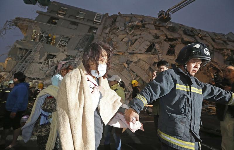 Taïwan: 14 morts et plus de 150 disparus dans un puissant séisme