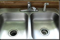 Our New Kitchen Faucet...after!