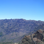 Vistas desde lo alto de la Caldera de Taburiente