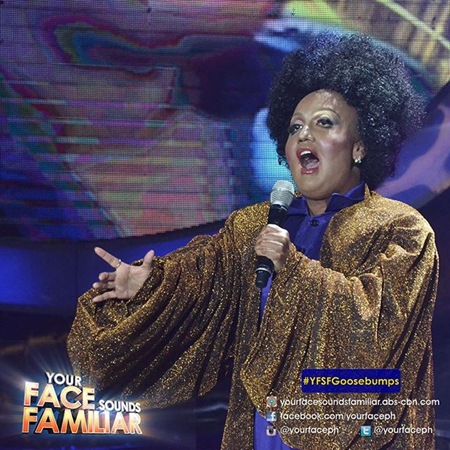 YFSF - Kakai Bautista as Jennifer Holliday