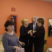Pogány Erzsébet üdvözli Czimbalmosné Molnár Éva nagykövetet és férjét