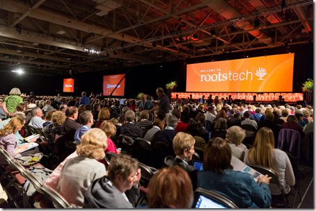 RootsTech 2016 will be 3-6 February 2016 in Salt Lake City, Utah.