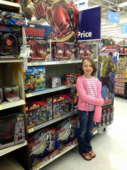MARVEL's The Avengers Age of Ultron at Walmart