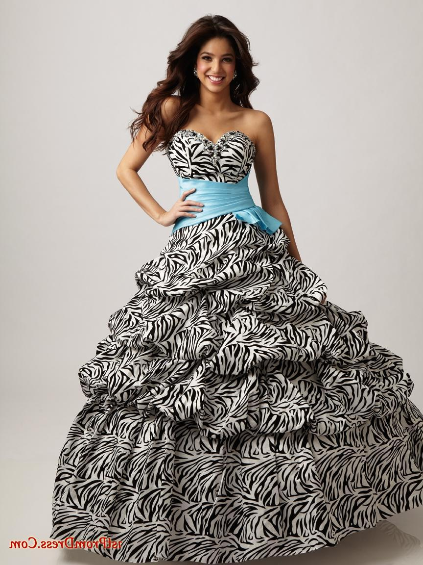 Zebra Print Wedding Dresses 76