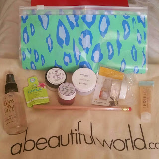 A Beautiful World Spring/Summer Sampler Box.