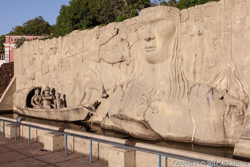 Monumento ao Pioneiros - Boa Vista, Roraima, fonte: Alex Uchoa