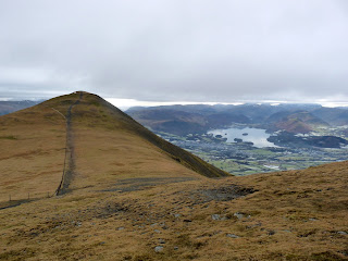 Skiddaw Little Man and Derwentwater