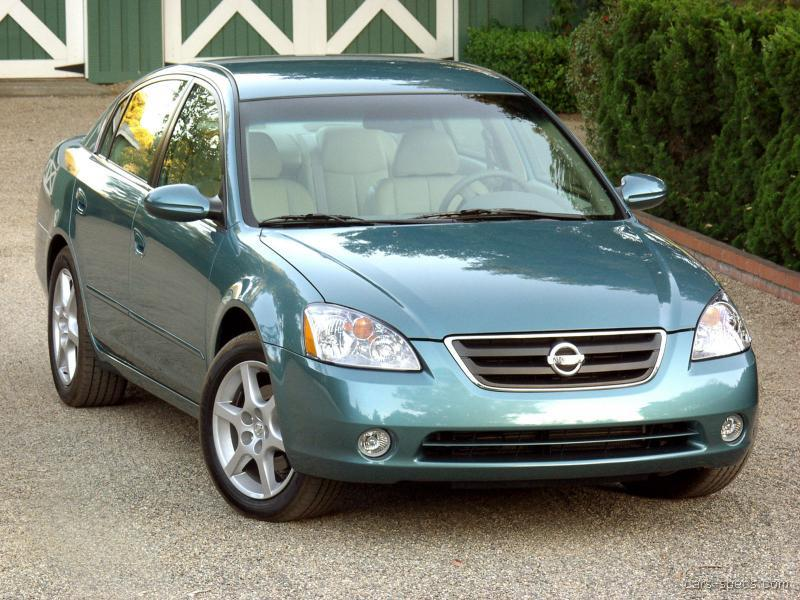 2002 nissan altima sedan specifications pictures prices. Black Bedroom Furniture Sets. Home Design Ideas