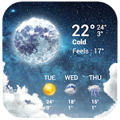 Free Temperature&Live Weather free APK for Windows 8