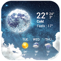 Temperature&Live Weather free For PC