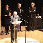 La musicóloga y compositora Mariangeles Sánchez Benimeli, no pudo estar presente en el acto por problemas de salud y fue Juan Grecos quien nos hizo llegar sus poéticas y emocionadas palabras de agradecimiento.