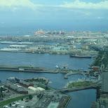 yokohama bay in Yokohama, Tokyo, Japan