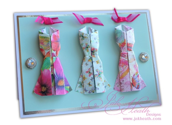 book of pearl origami dresses1
