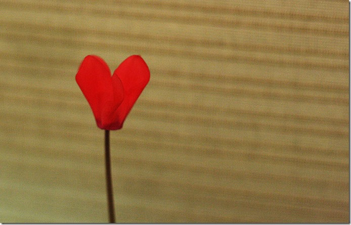 Heart-on-a-stick