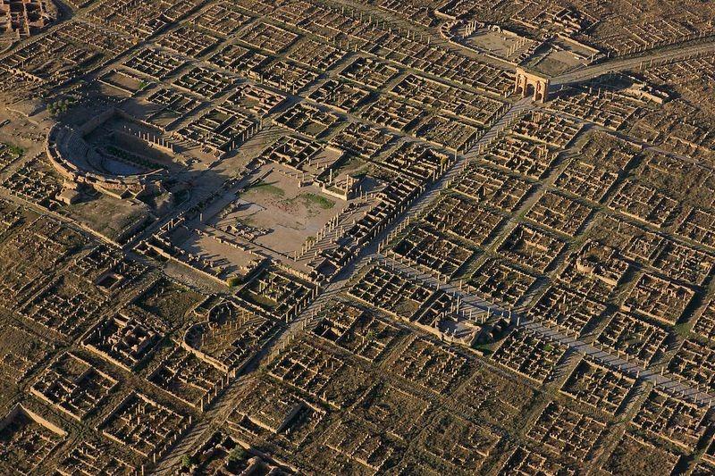 Ancient Roman city planning
