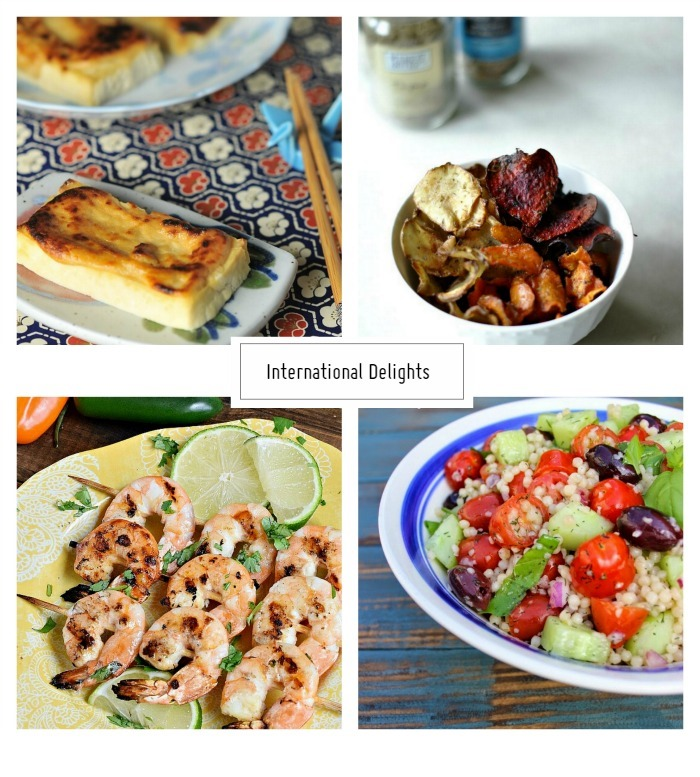 Inspiration Pinboard International Delights - homework