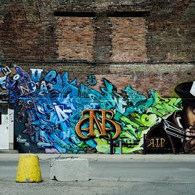 by Mateo de la Vega - City,  Street & Park  Street Scenes