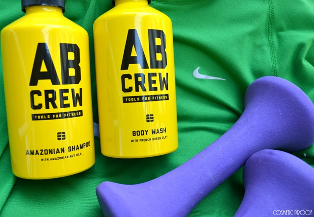 AB Crew Body Wash and Amazonian Shampoo Review