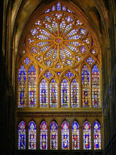 God's lantern - Metz Cathedral, Metz, France
