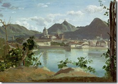 the-town-and-lake-como-jean-baptiste-camille-corot