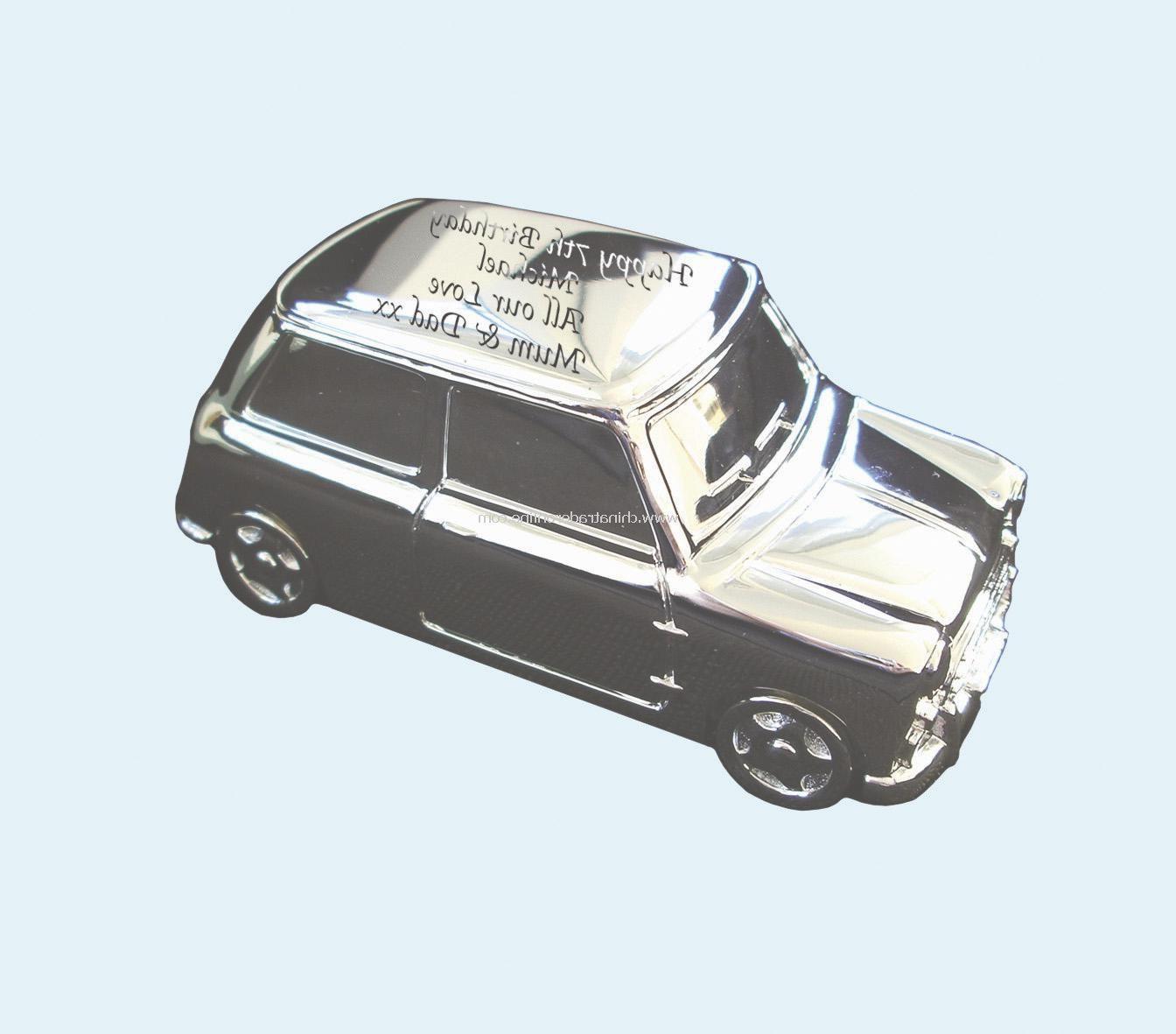 Silver Plated mini Money Box