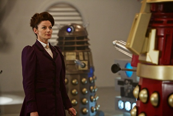 Michelle Gomez is Missy in Doctor Who The Witch's Familiar