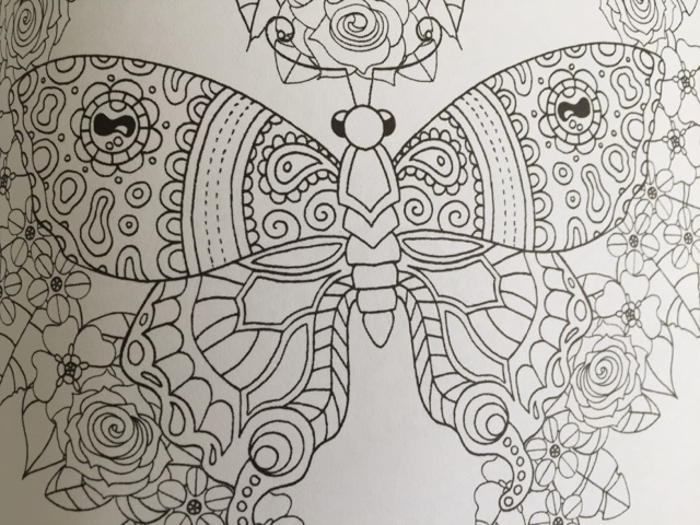 colour me mindful butterfies