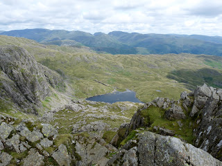 Anther view of Stickle Tarn and Pavey Ark on the left.